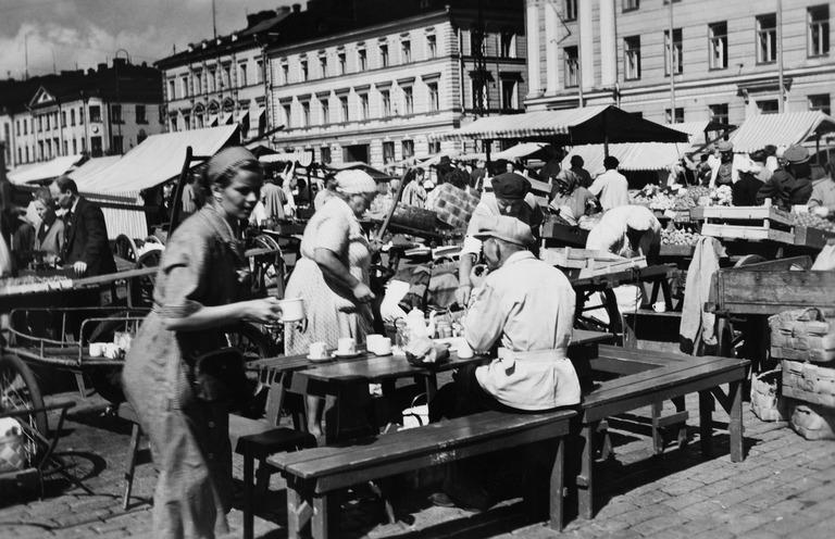 kauppatori 1950