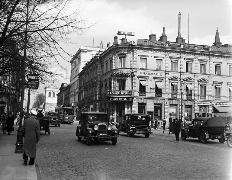 apteekin talo 1930