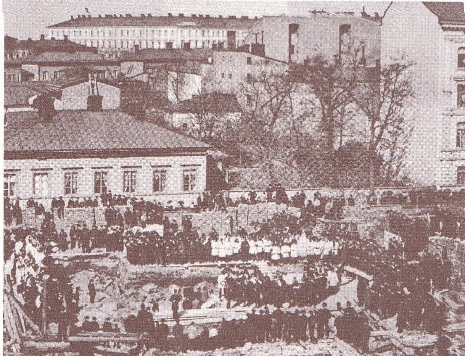 vpk talo peruskiven muuraus 1888